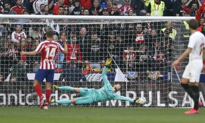 Sufrido empate del Atlético de Madrid. Foto: Twitter