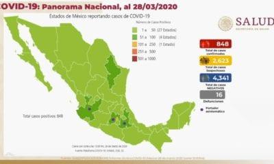 Aumentan casos de COVID-19 en México