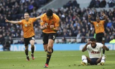 Gol de Raúl Jiménez le dio la victoria al Wolverhampton