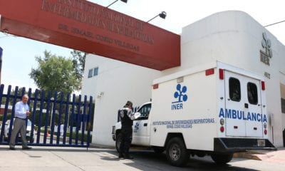 Confirma INER muerte del primer mexicano por COVID19