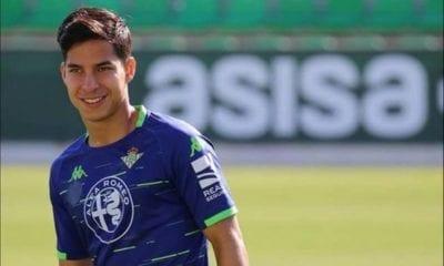Diego Lainez, listo para regresar