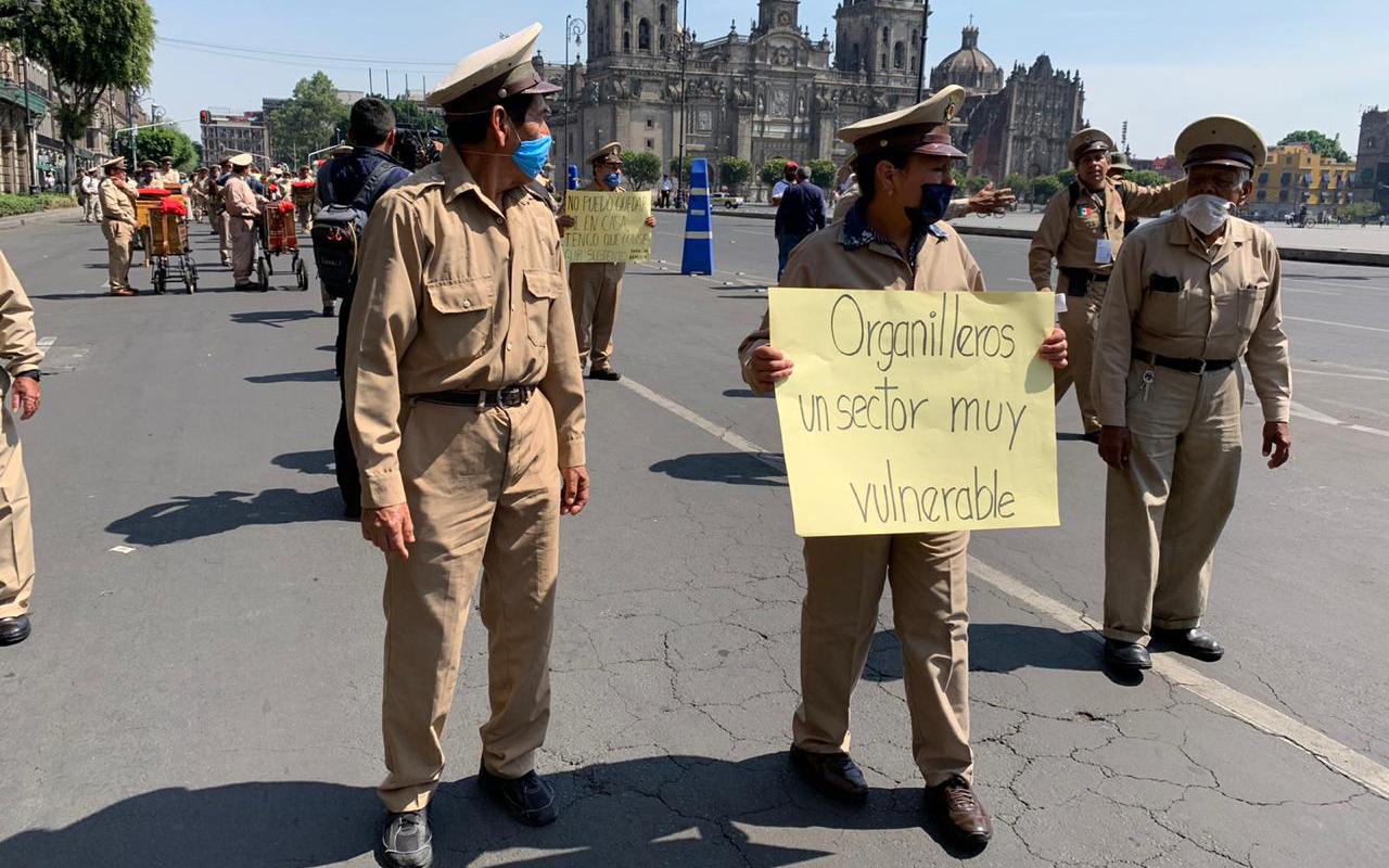 Organilleros piden apoyo económico al gobierno de la CDMX