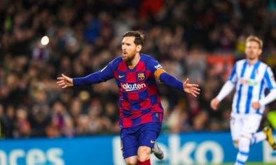 Solitario gol de Messi en victoria del Barcelona