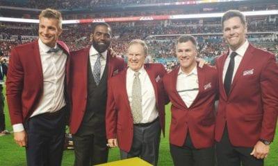 Tom Brady queda fuera de los Patriotas de Nueva Inglaterra