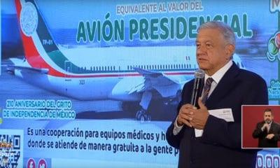 Rompen boletos de rifa de alusiva al Avión Presidencial
