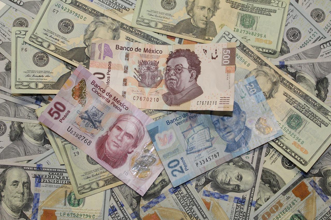 dólar, pesos, remesas