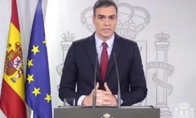 Pedro Sánchez, jefe del Gobierno español (Captura de video)