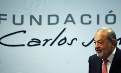 Fundación Carlos Slim destina mil mdp para combatir Covid-19
