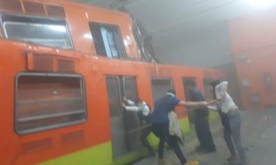 Choque de Metro en Tacubaya fue por error de conductor