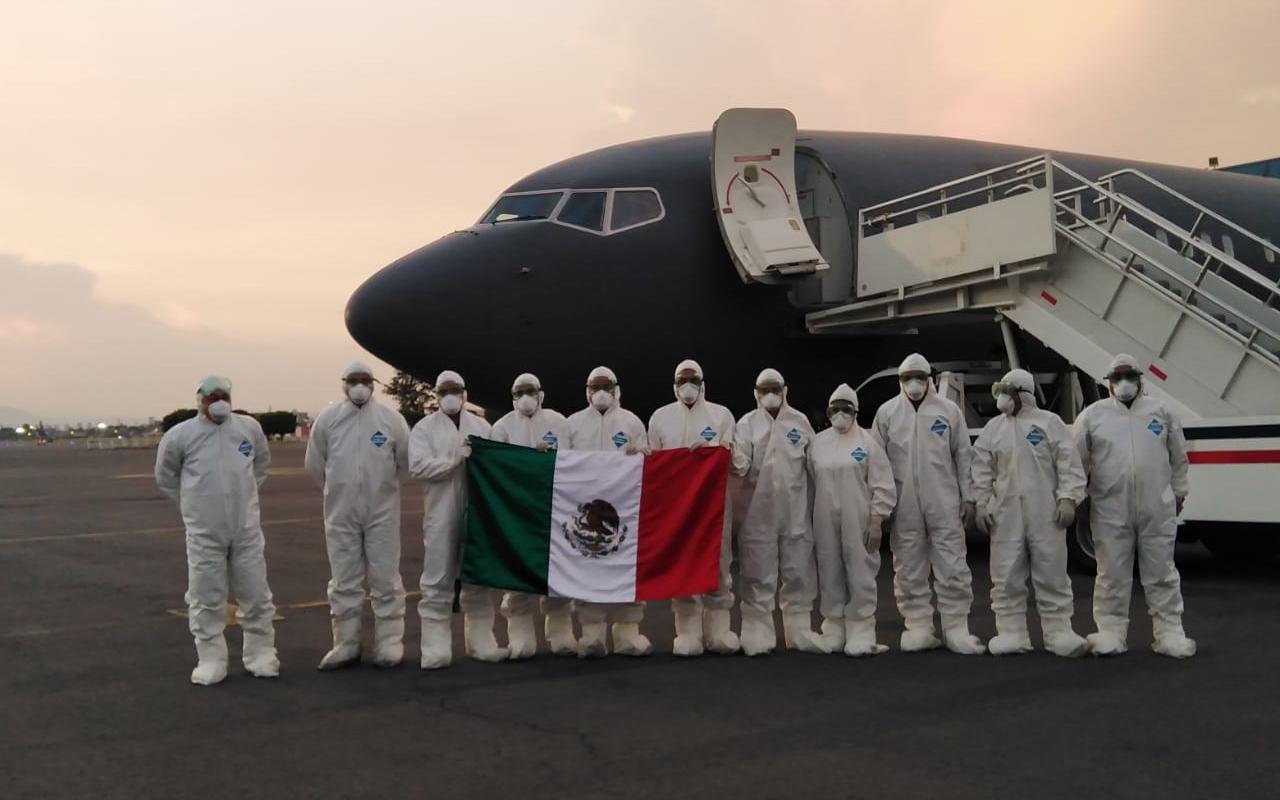 Van por mexicanos varados en Argentina