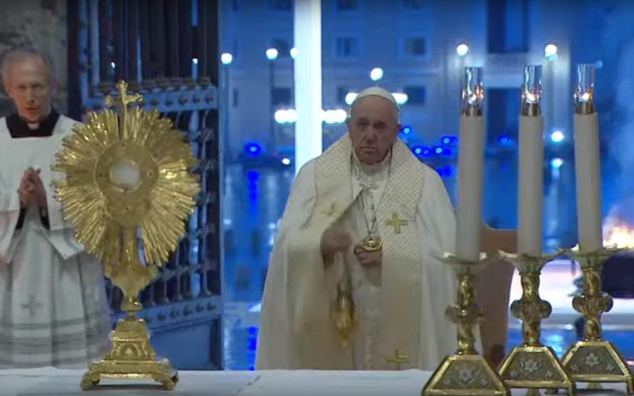 ¿Por qué fue histórica la Bendición Urbi Et Orbi del papa Francisco?