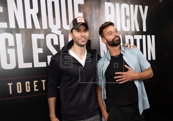 Ricky Martin y Enrique Iglesias juntos de gira