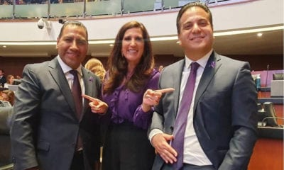 Obrador pide apoyo a senadores del PAN