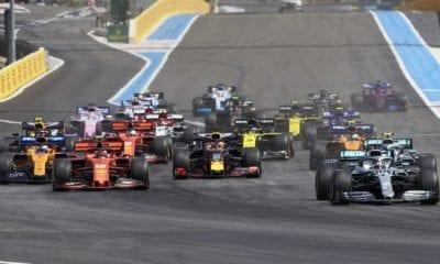 Cancelan la Fórmula 1 en Francia. Foto: F1