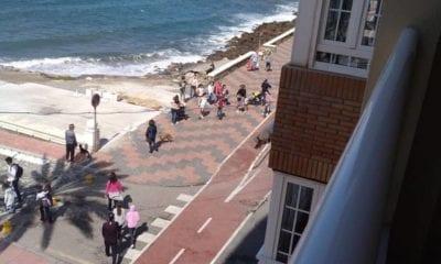 Menores de 14 años salen a las calles en España