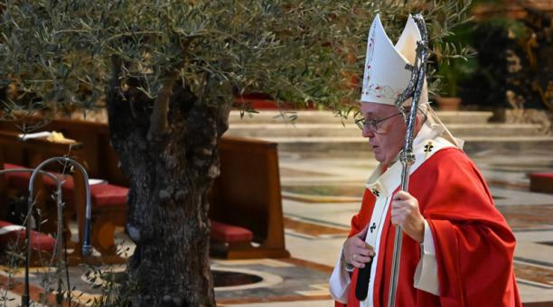 Papa Francisco celebra Domingo de Ramos