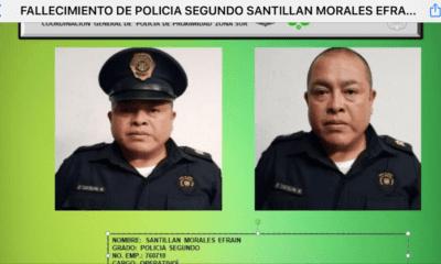 Elemento policiaco de la CDMX muere por Covid-19
