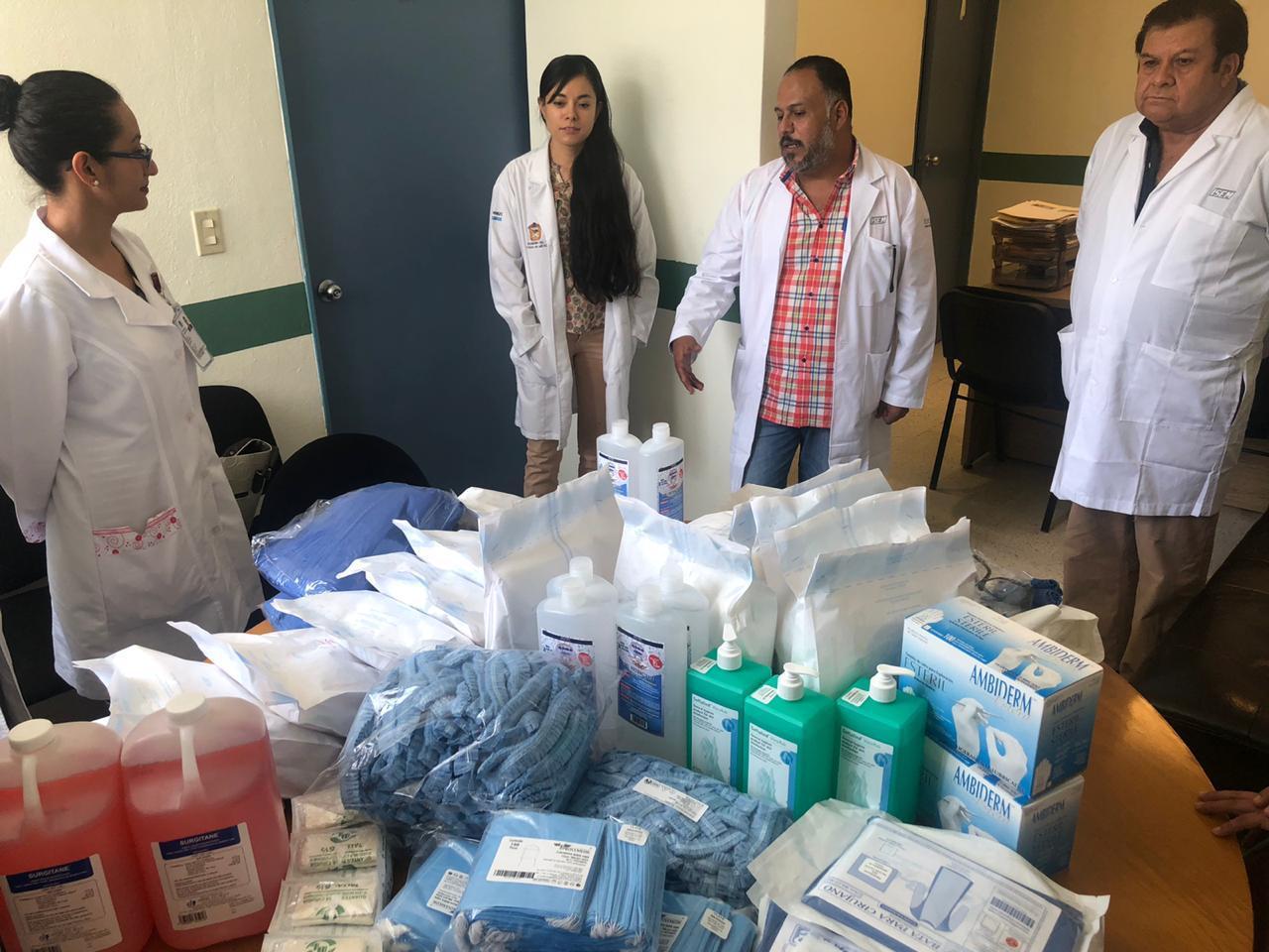 Garantiza Edoméx insumos en hospitales del ISEM para atender a pacientes por Covid-19