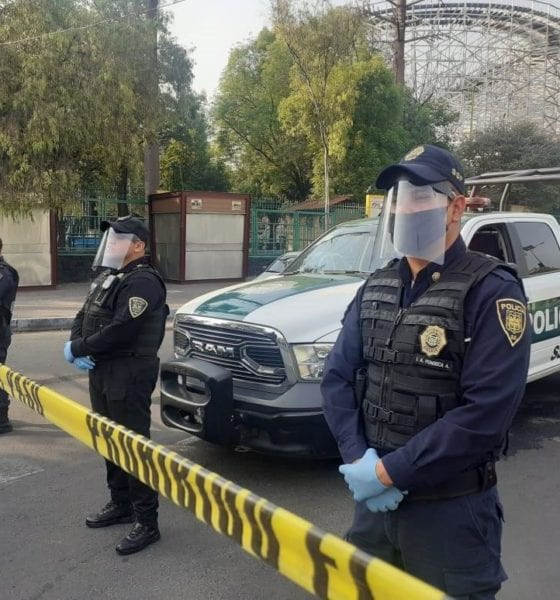 Oficiales de la SSC mantienen despliegue en la segunda sección del Bosque de Chapultepec