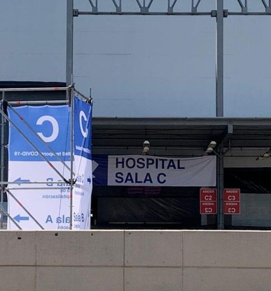 Así luce el hospital temporal en Centro Citibanamex