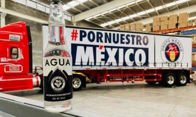 Grupo Modelo dona 100 mil botellas de agua a hospitales del Edomex