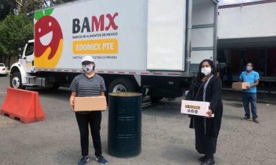Distribuye Banco de Alimentos despensas a grupos vulnerables