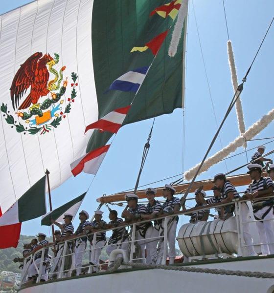 """Cancela salida el Buque Escuela """"Cuauhtémoc"""" por crisis sanitaria"""