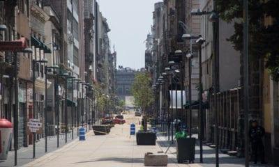 Desciende 70% la movilidad en las calles