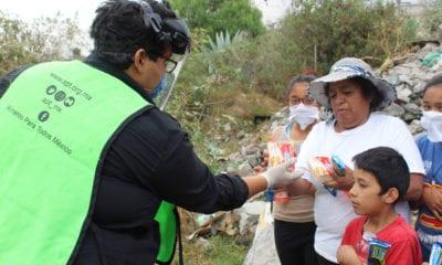 Banco de Alimentos Cáritas entrega despensas a grupos vulnerables