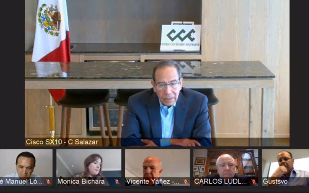 El CCE invita al gobierno federal a sumarse a un Acuerdo Nacional