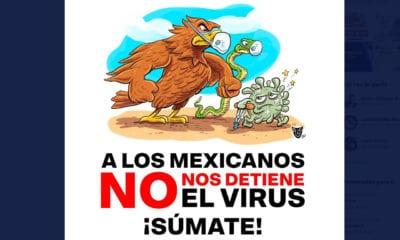 Coparmex lanza campaña #NoNosDetieneElVirus