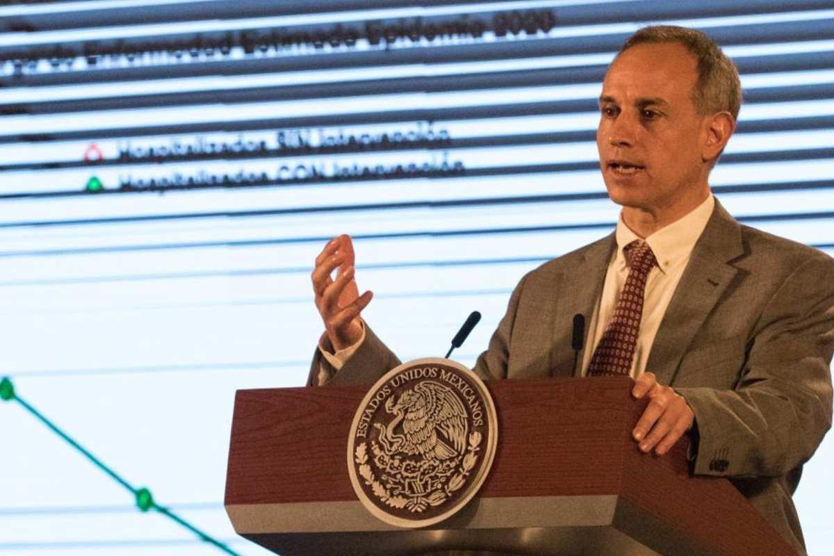 López Gatell habla sobre fin de la epidemia (Cuartoscuro)