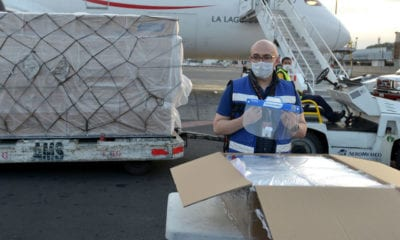 En fase 3, México distribuye 13 millones de insumos médicos