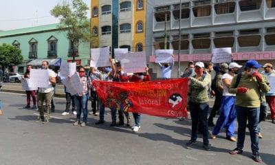 Trabajadores del Metro se manifiestan; Sindicato desmiente suspensión de operaciones