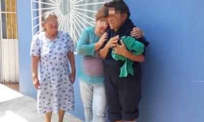 Mujer se reencuentra con su familia tras vivir 4 años en la calle