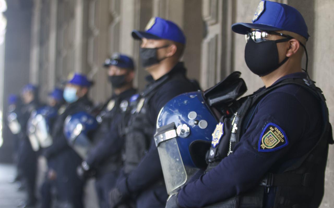 Policías de la Ciudad de México dan positivo a Covid-19