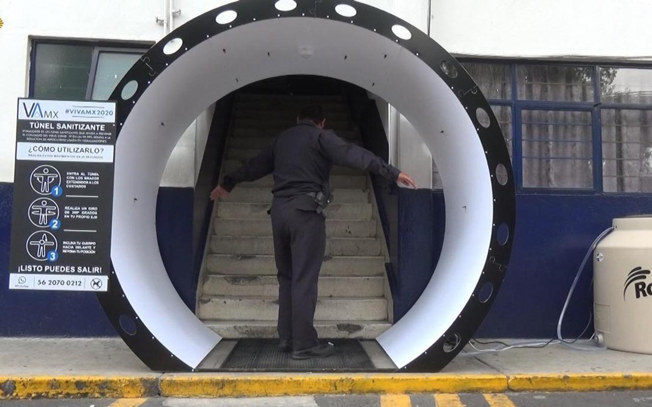 Recomiendan NO utilizar túneles y arcos sanitizantes