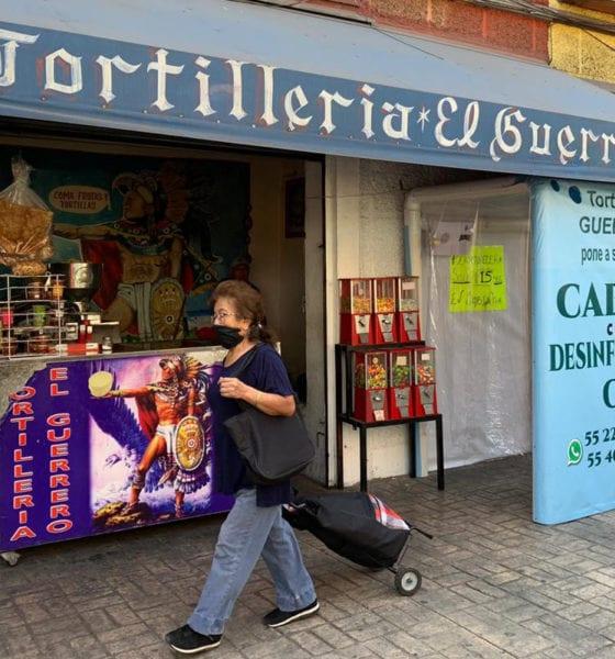 Tortillería de la CDMX Instala cabina desinfectante