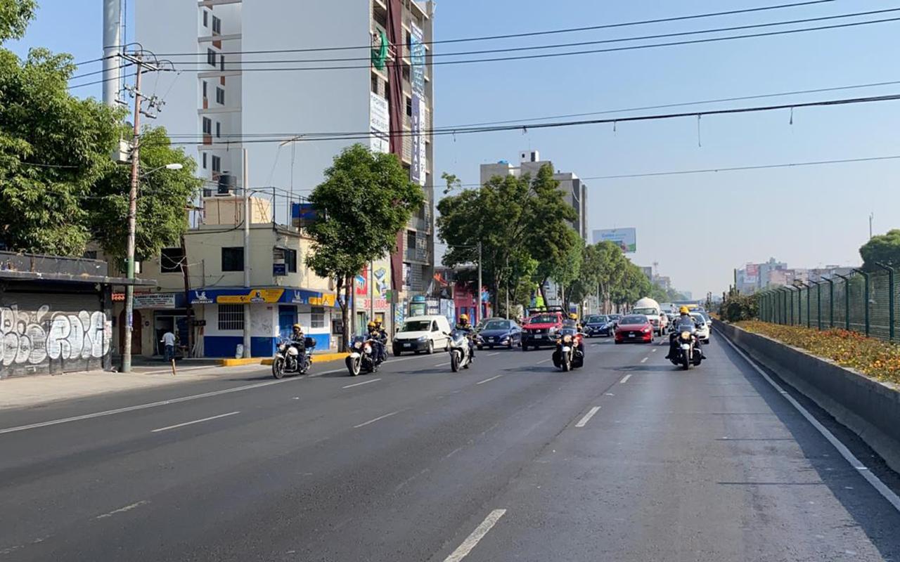 Reducen velocidad de automovilistas en la CDMX