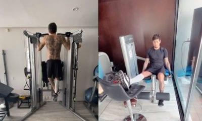 Acepta el jugador de América Nicolás Castillo que le impresionó su cambio físico. Foto: Twitter