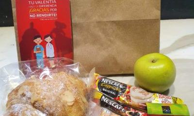 Médicos reciben desayunos y mensajes de agradecimiento