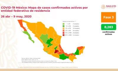Aumentan cantidad de contagios y decesos por Covid-19 en México