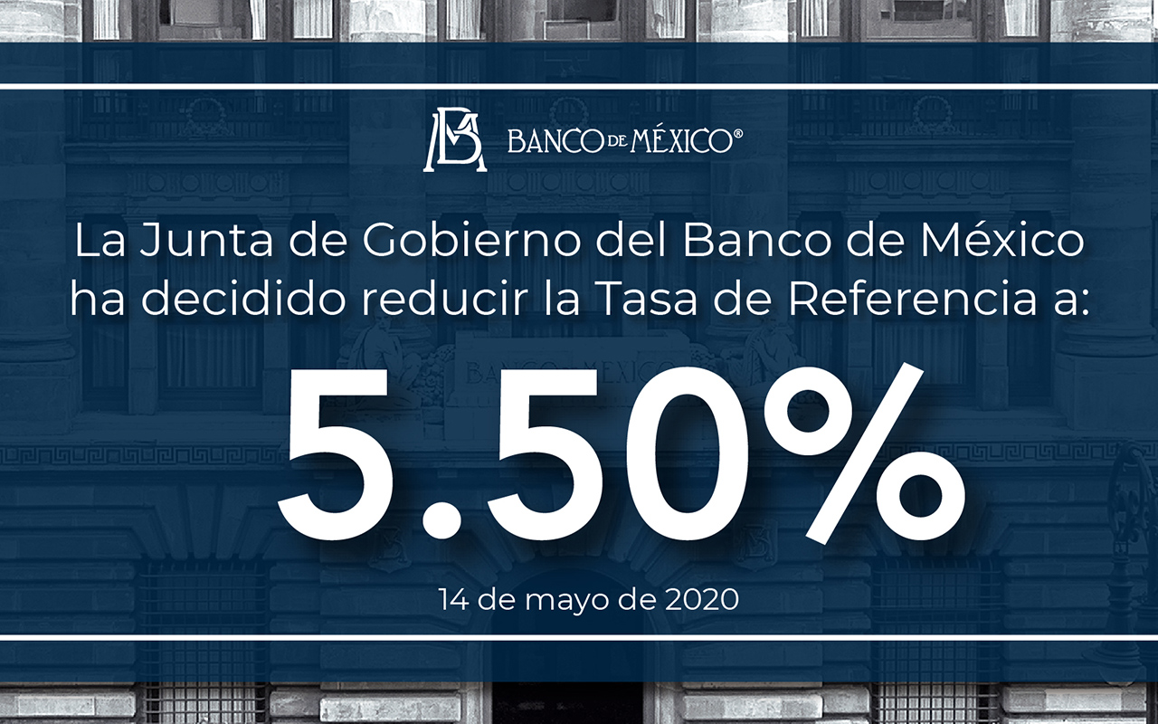 Banxico continúa disminuyendo la Tasa de Interés Interbancaria