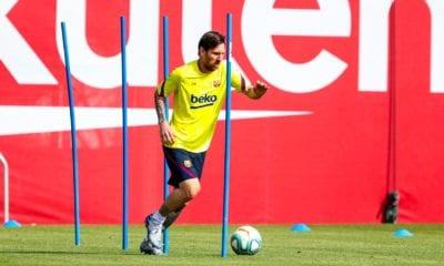 Barcelona regresa a los entrenamientos. Foto: Twitter Barcelona
