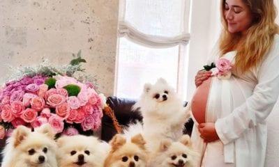 Sherlyn embarazada