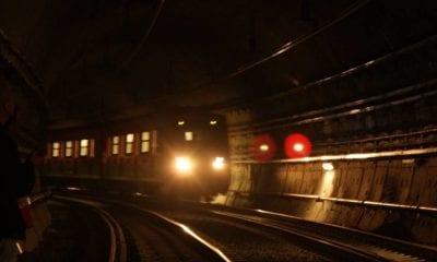 Cierran Metro para evitar concentración de personas. Foto: Metro