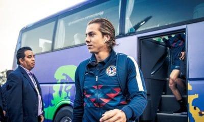 Cordova listo para ir a Europa. Foto: Club América