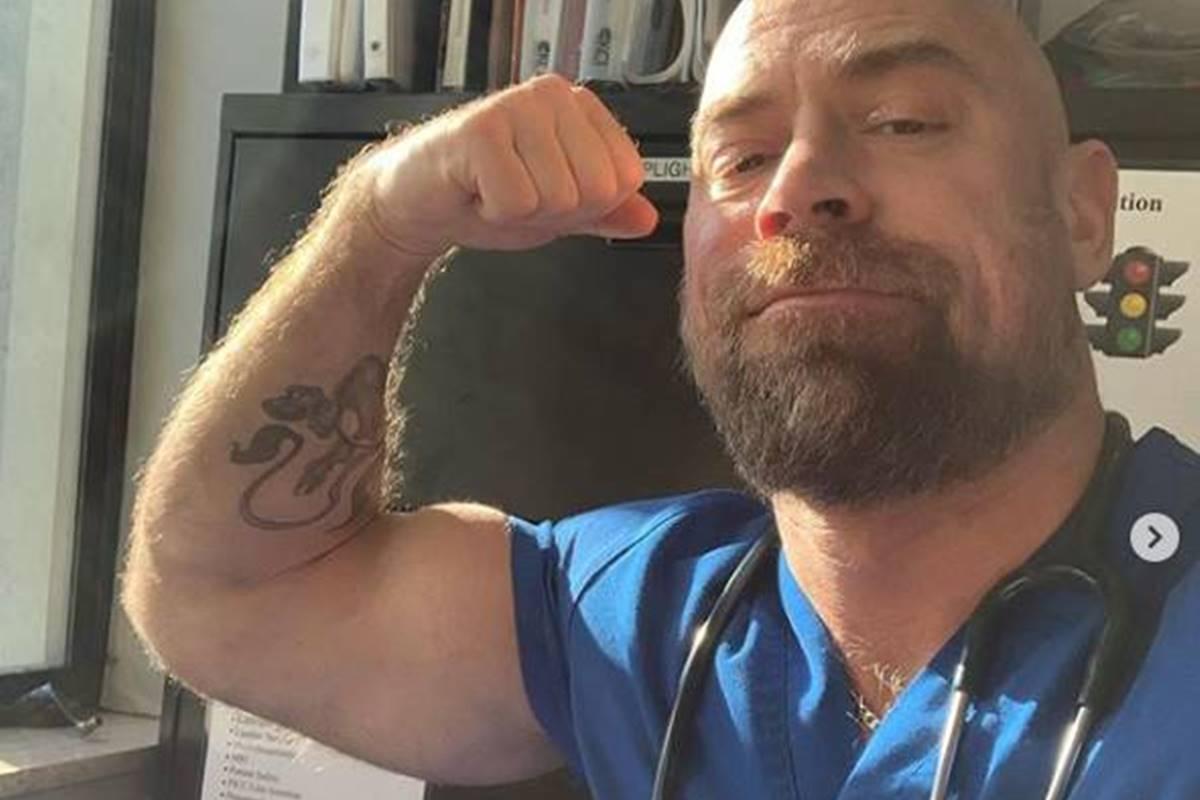 Covid-19 destroza músculos de fisicoconstructivista tras permanecer intubado seis semanas. Foto: Instagram