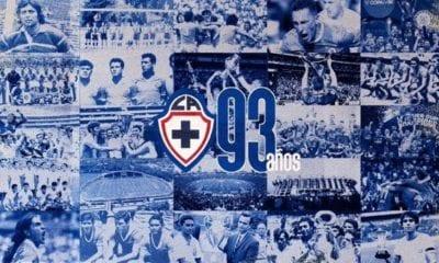 Cruz Azul cumple 93 años de vida. Foto: Cruz Azul