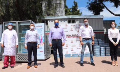 Heineken dona insumos al Hospital General de Tijuana